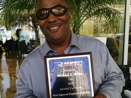 Respect of Florida Honors Cecil Field Employee
