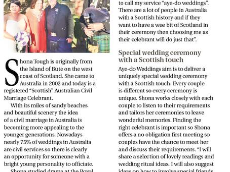 "Scottish Weddings in Australia - when ""I do"" becomes ""Aye Do"""