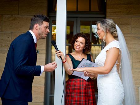 Emily and Rob's Elegant wedding