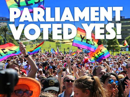 Australia has voted YES!  So when can I get married?