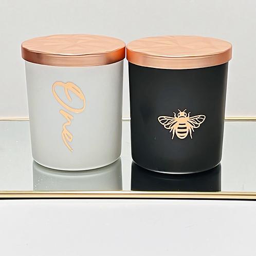 One Designer Candle