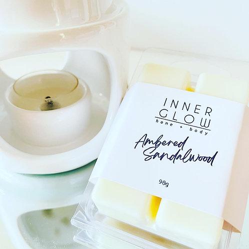 Ambered Sandalwood Wax Melts