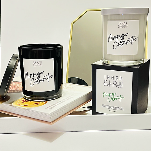 Mango Cilantro Signature Candle
