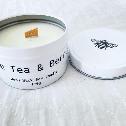 White Tea & Berries Travel Candle