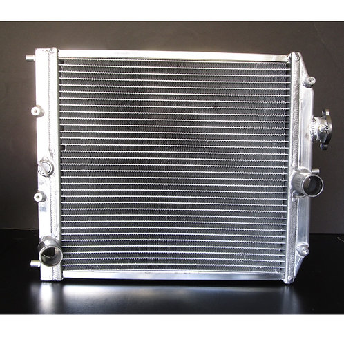 Aluminum Dual Core Radiator 1.75 x 14.5 x 15.5 in.