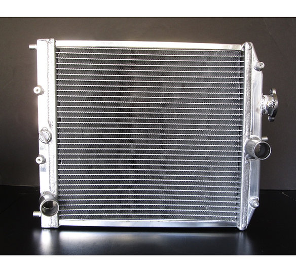 Aluminum Dual Core Radiator 1.75 x 14.5 x 15.5 in.