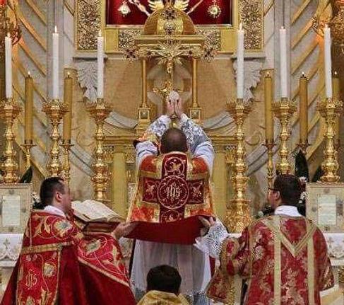 La Saint sacrifice de la messe