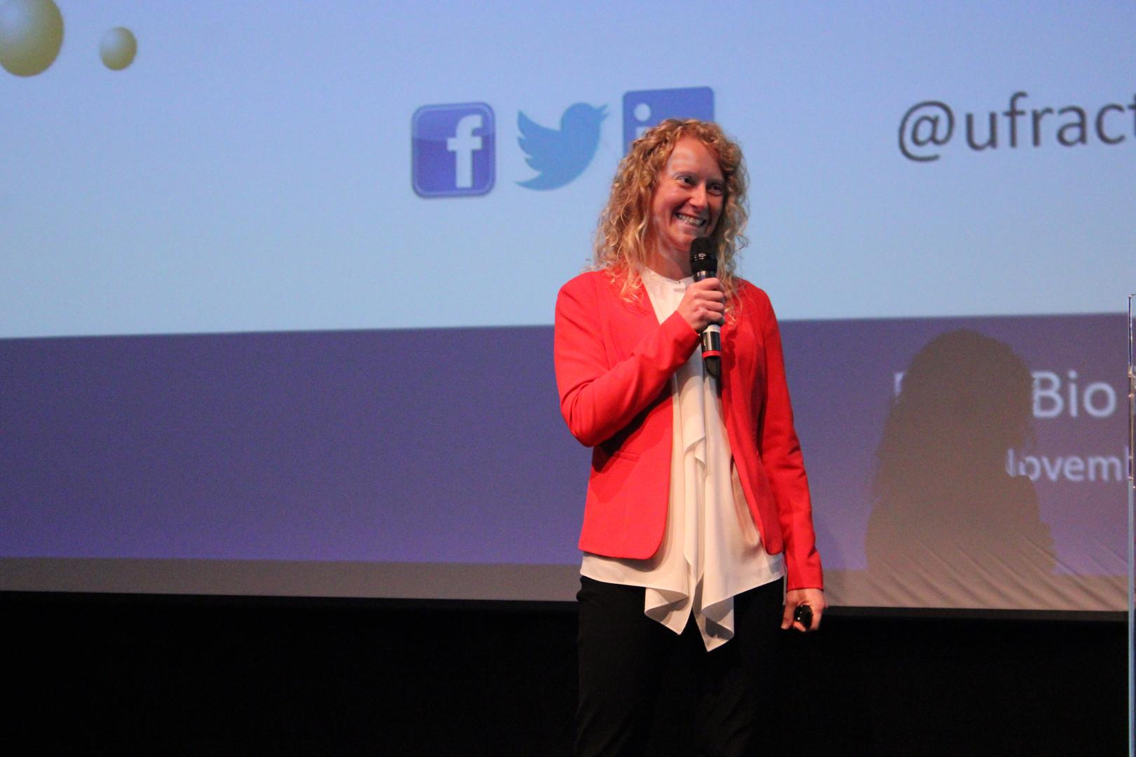Monika Tomecka, CEO at UFraction8.