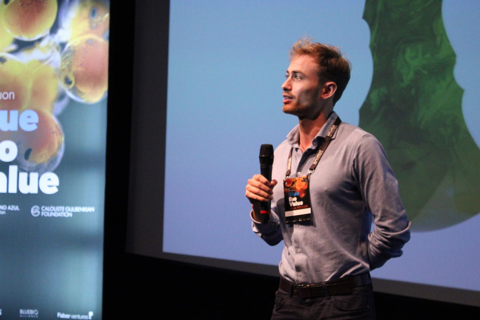 Esben Rimi Christiansen, Founder at Pure Algae Denmark.