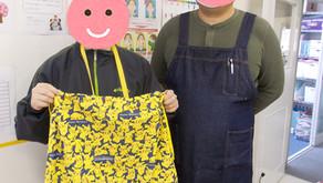 【おりなすの作品紹介:お気に入りのキャラクターの巾着袋】