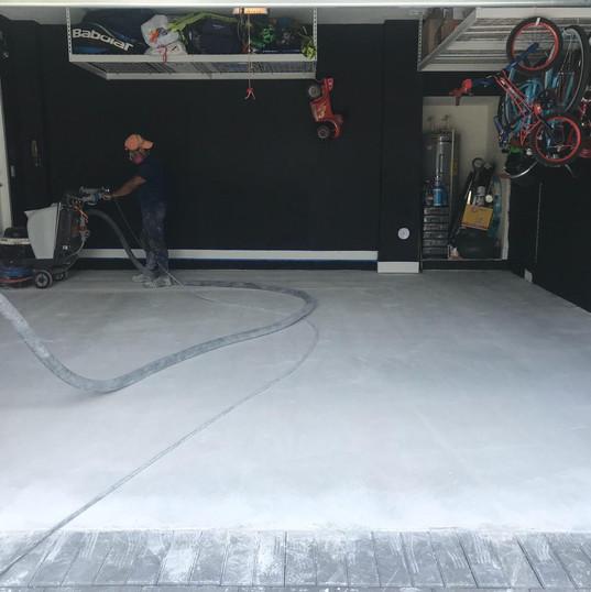 Concrete Polishing Before