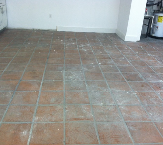 Mexican Tiles  Before