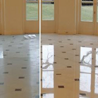 Marble Floor  Before - After