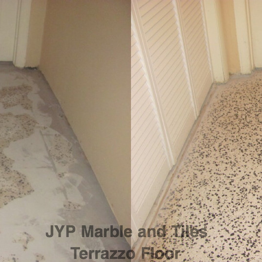Terrazzo Before - After