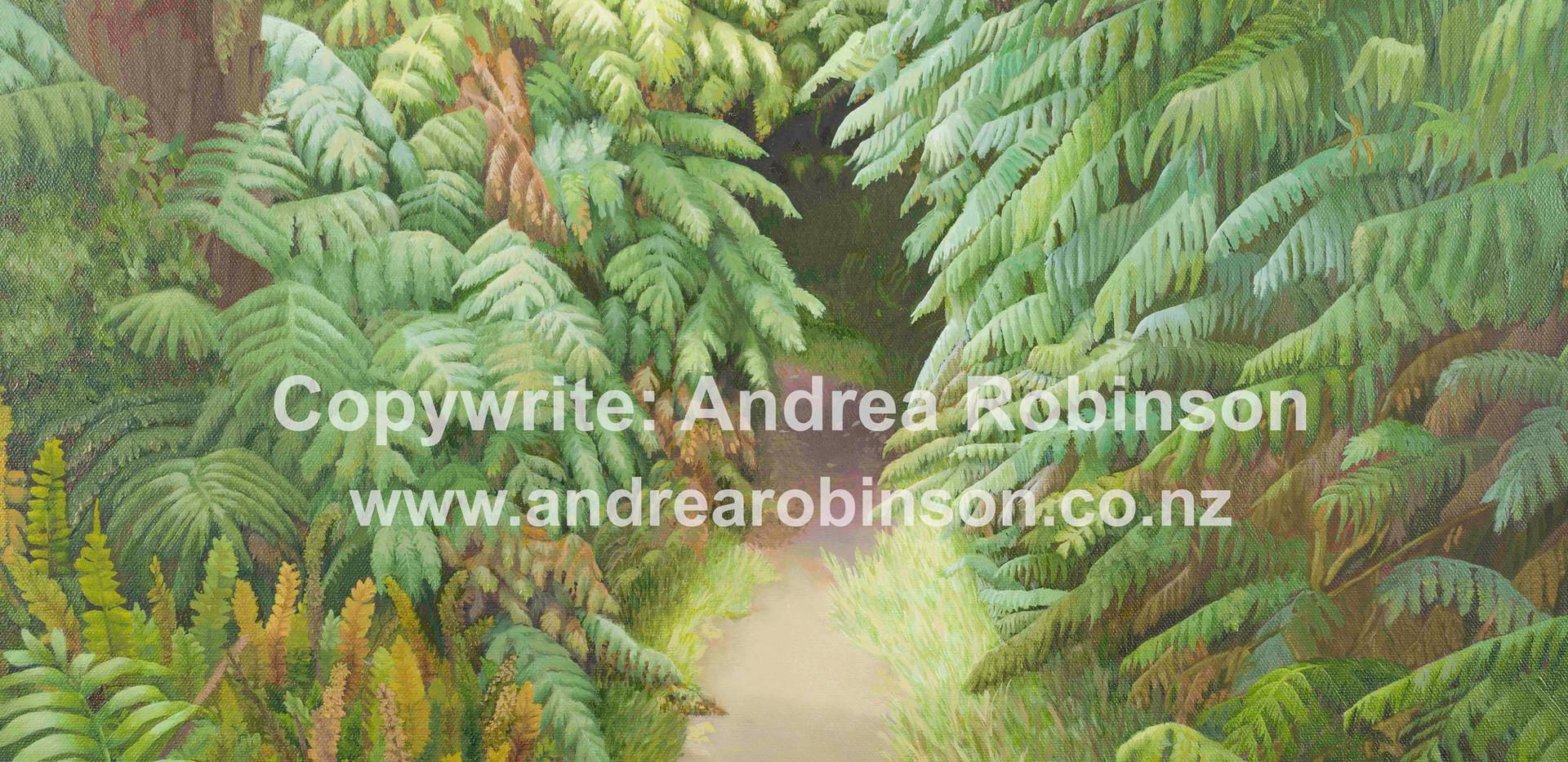 Hidden path (giclee print)
