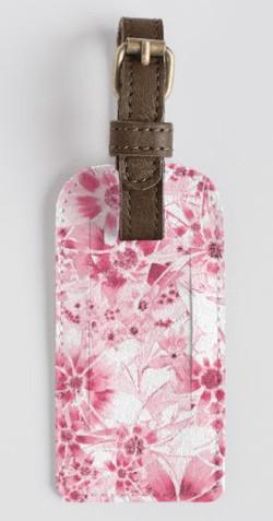 Pink Daisy tag