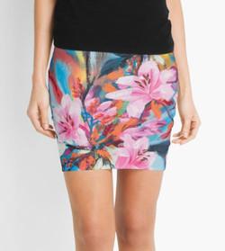 Mini Skirt - Floral