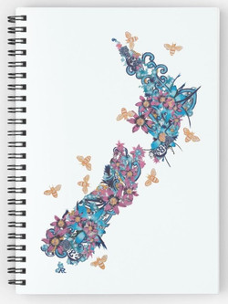 Land of Milk and Honey Notebook