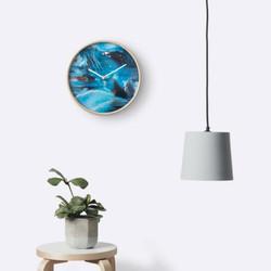Clock Ocean Paradise