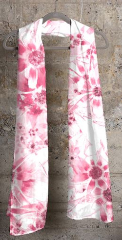 Pink Daisy Cashmere