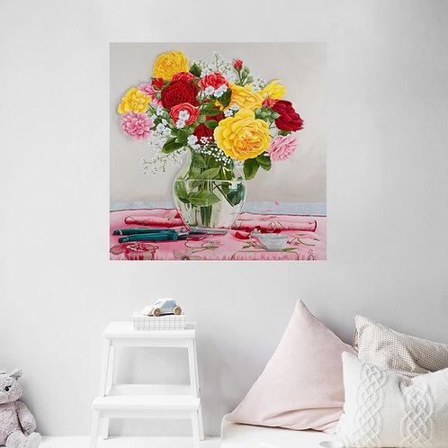 "Remembrance - original oil on canvas - 76cm (30"") square"