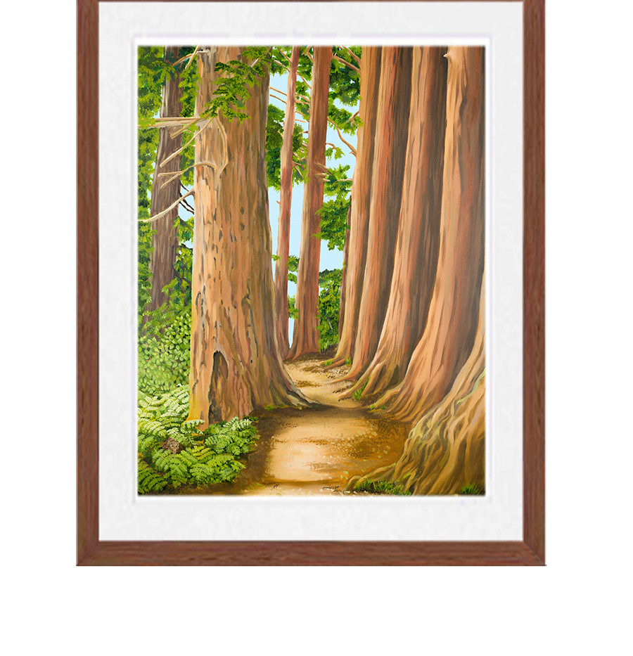 Into the woods (giclee print)