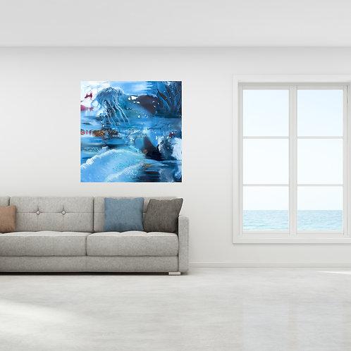 Ocean Paradise - original oil on canvas