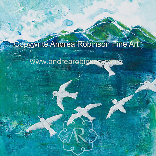 Terns  - SOLD - giclee prints available