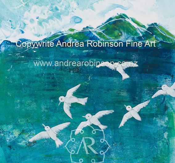 Terns (giclee print)
