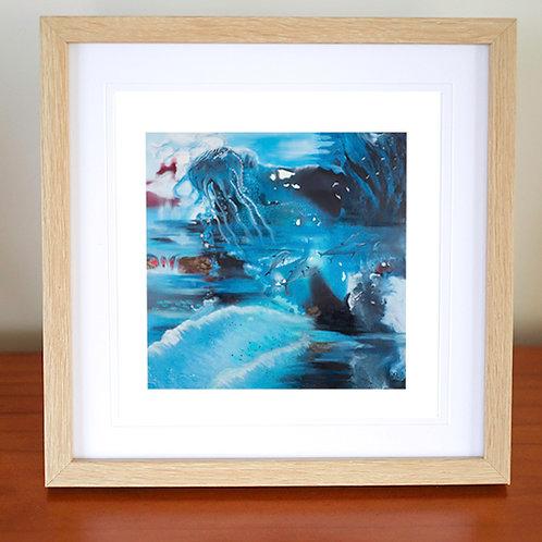 "Ocean Paradise - 5"" x 5"" Giclee prints on Ilford premium paper"