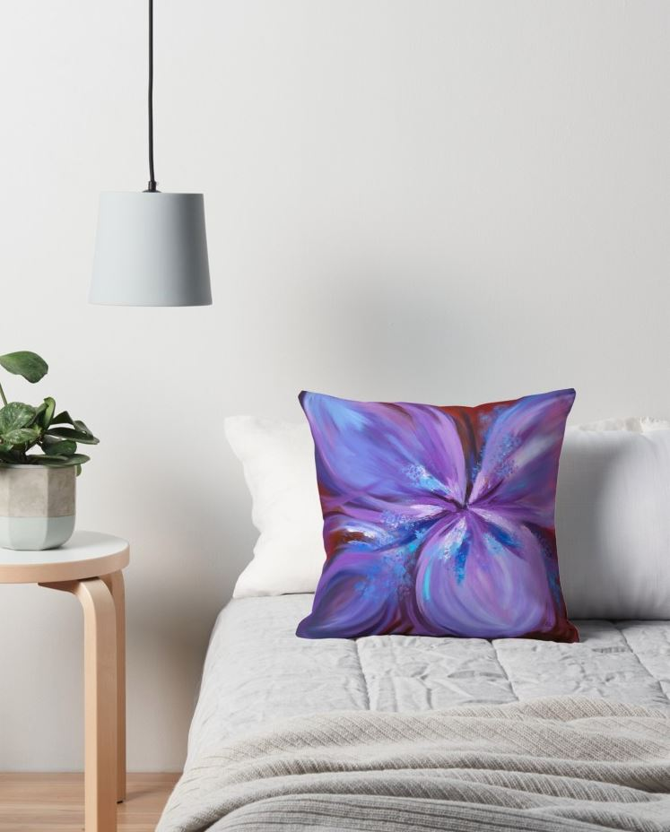 Cushion - purple