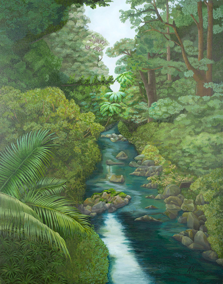Bush Scene - Andrea Robinson Artist