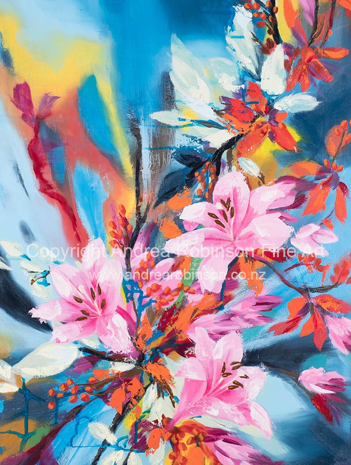 Floral Fantasy (sold)