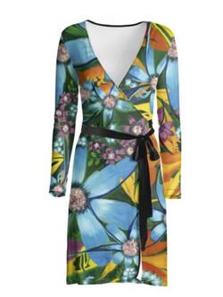 Fantasia - wrap dress
