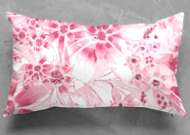 Pink Daisy cushion