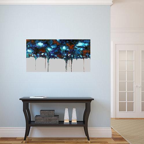 Rain - original oil on canvas