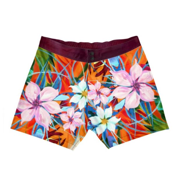 Pacifica Red Boardshorts