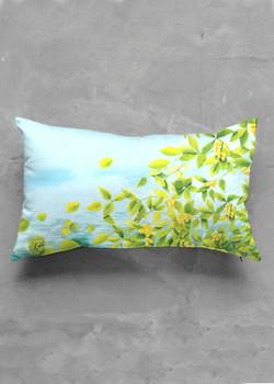 Met oblong pillow
