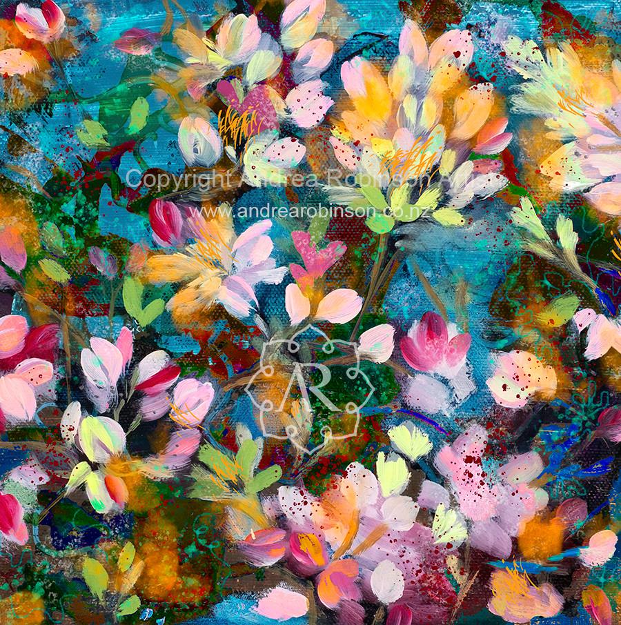 Floral impression (sold)