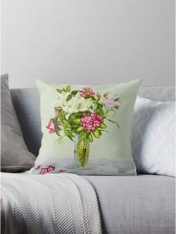 Lillies pillow
