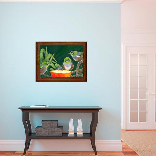 Mine - original oil on canvas