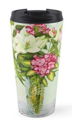 Lillies mug