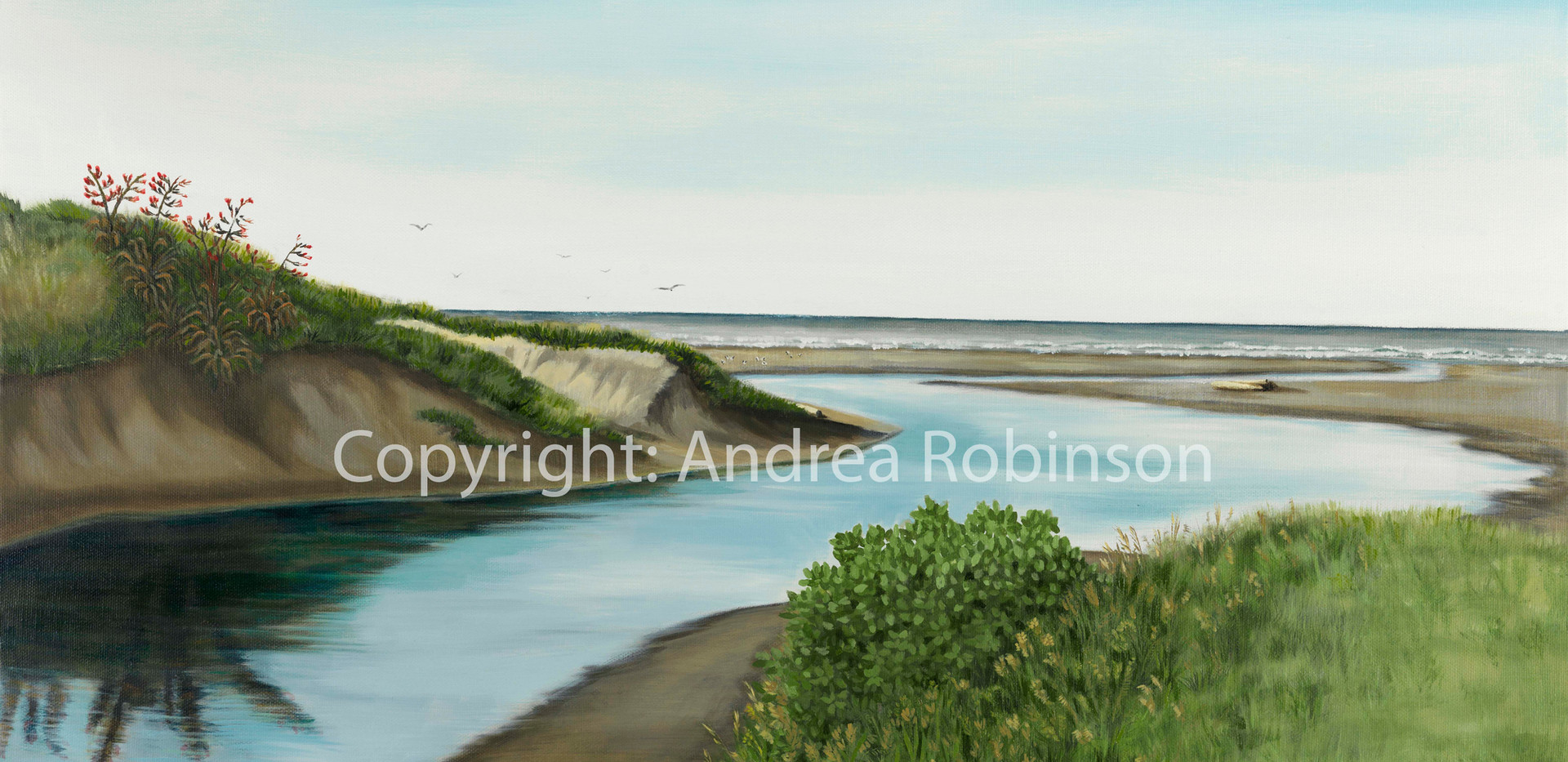 River to the sea (giclee print)