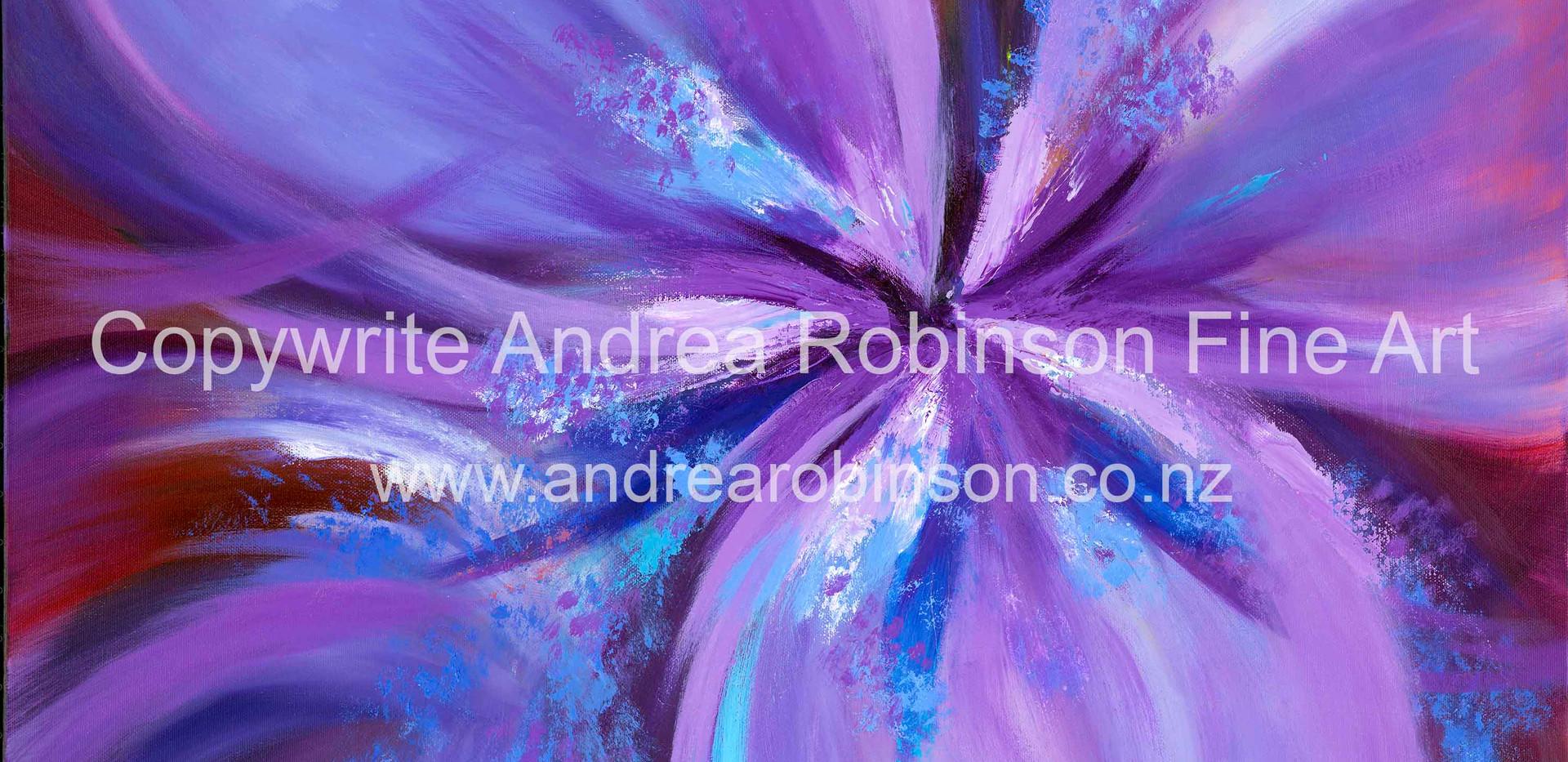 Purple Gladiolus (sold)
