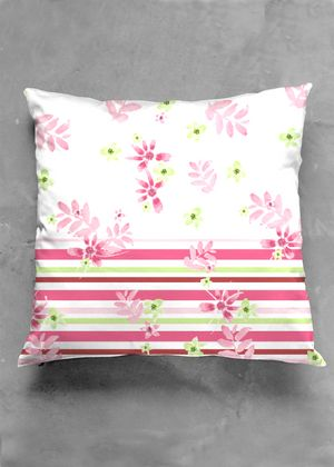 Pretty in pink pillow