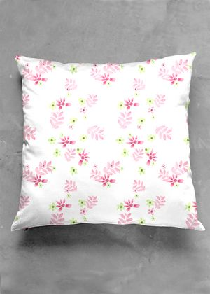Pink and lime devine pillow