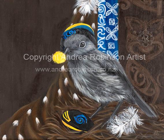 NZ Robin (giclee print)