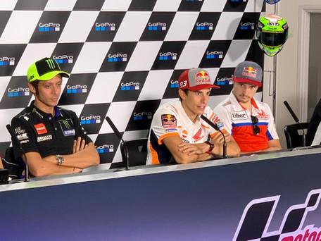 The British MotoGP press