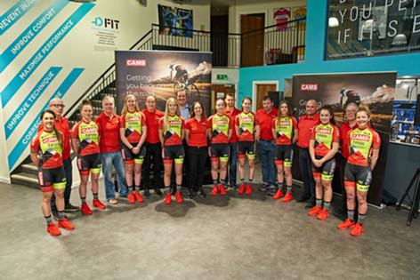 CAMS-Tifosi Women's Cycle Tour Team