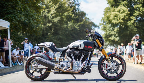ARCH Motorcycle UK launch